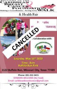 D.H.A/Caribbean Breast Cancer Foundation Walk & Health Fair [Event Cancelled]